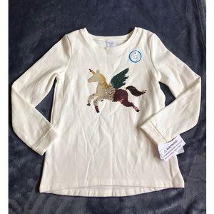 CARTER's Flip Sequin Pegasus Fleece Sweatshirt
